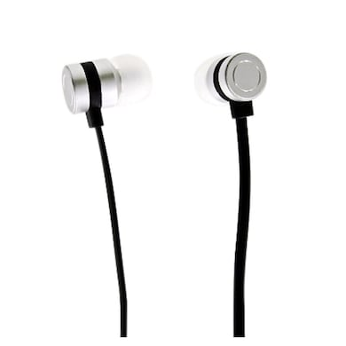 Digitek DE-501 Stereo Dynamic Earphone With Mic White Price in India