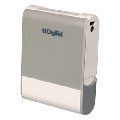 Digitek DIP 10400M Power Bank with Stand 10400 mAh White and Grey Price in India