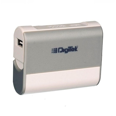 Digitek DIP 5200M Power Bank with Stand 5200 mAh White and Grey Price in India