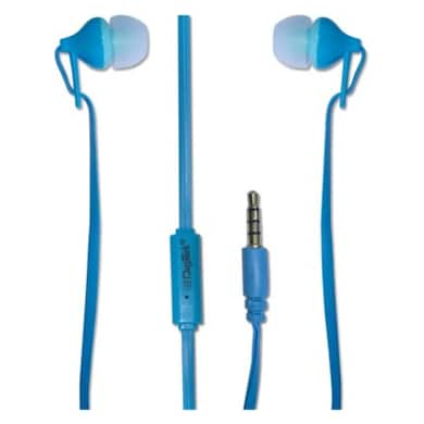 Digitek DE-105 Stereo Wired Headset With Mic Blue Price in India