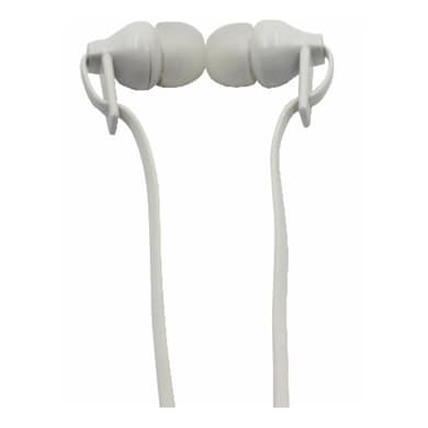 Digitek DE-105 Stereo Wired Headset With Mic White Price in India
