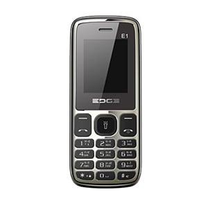Edge E1 Dual SIM Black