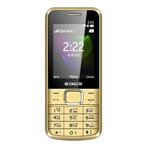 Edge E66 Dual Sim Feature Phone Gold