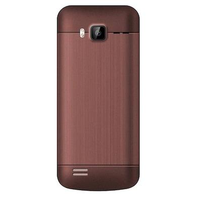 Edge E66 Dual Sim Feature Phone Coffee images, Buy Edge E66 Dual Sim Feature Phone Coffee online at price Rs. 935