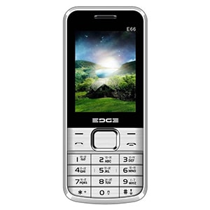Edge E66 Dual Sim Feature Phone Silver