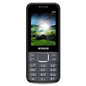 Edge E66 Dual Sim Feature Phone Black