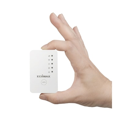 Edimax EW-7438RPN Mini N-300 Smart Wi-Fi Extender with EdiRange App White Price in India