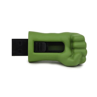 ENRG Hulk Hand 16 GB USB 2.0 Pen Drive Green Price in India