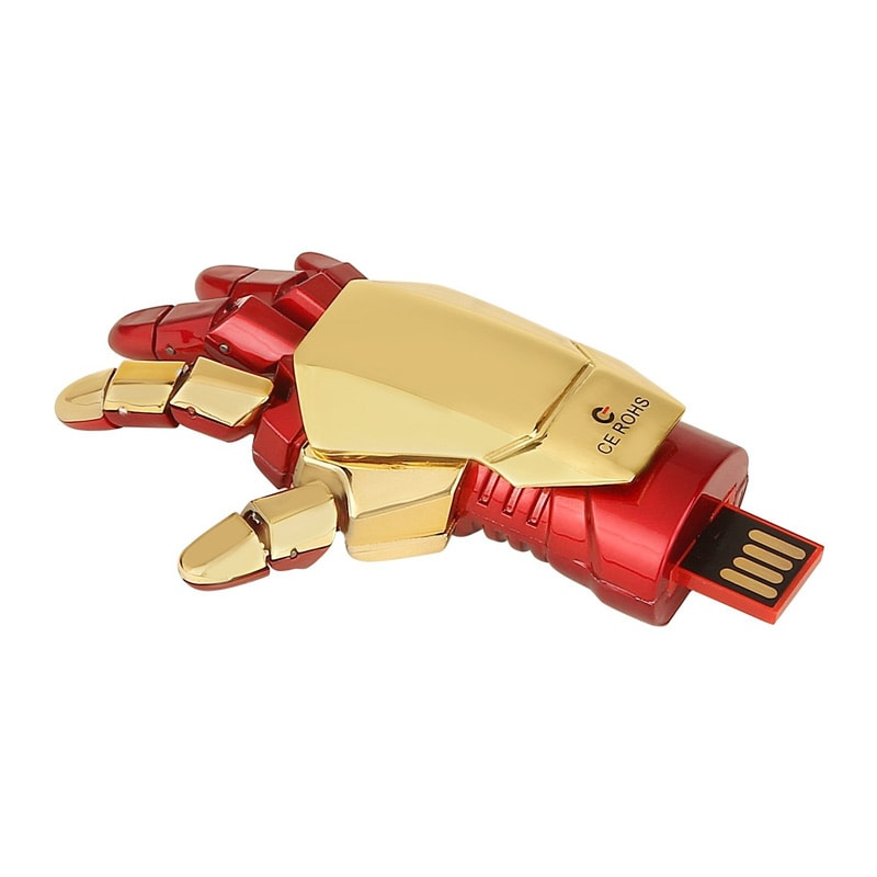 ENRG Iron Man Hand 16 GB USB 2.0 Pendrive Red images, Buy ENRG Iron Man Hand 16 GB USB 2.0 Pendrive Red online at price Rs. 899