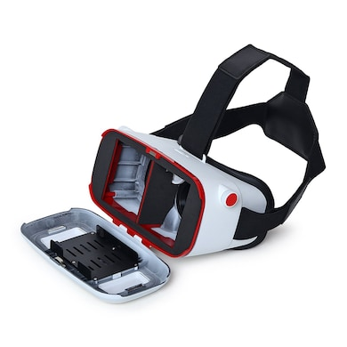 ENRG Matt finish VR Able PRO - Angle 70-90 Degree Fully Adjustable VR Glasses White Price in India