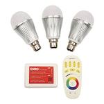 Buy ENRG LED Wi-Fi-Controlled Bulb -(Set of 3 PC) White Online