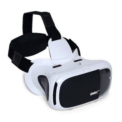 ENRG VR Able Touch Non-Spherical LENSES Fully Adjustable VR Glasses White And Black Price in India