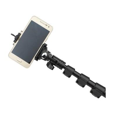 Enrg YT1288 Bluetooth Selfie Stick Black Price in India