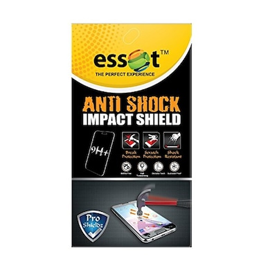 low priced a48d4 9f4f2 Essot 9H+ ProShieldz Antishock Impact Shield Bubble Free Screen Protector  for iPhone 7