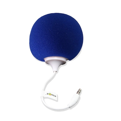 Essot Audio Dock Bubble Shape Wired Mobile/Tablet/Laptop Rainbow Speaker Blue Price in India
