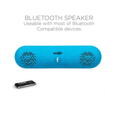Essot Capsule Portable Wireless Bluetooth Speakers Blue Price in India