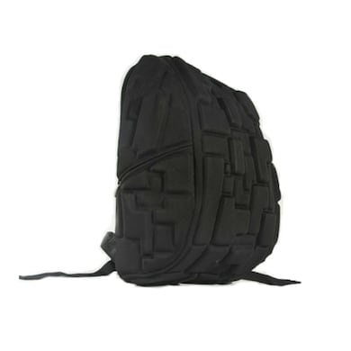 Essot Tetris Design Shock Absorbing Water Resistant Laptop Backpack upto 15 Inch Laptop Black Price in India