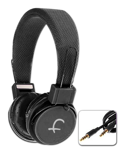 Flashmob Foldable Headphone With Mic Black Price in India