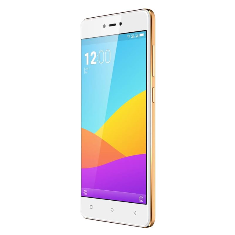 Gionee F103 Pro Gold, 16 GB images, Buy Gionee F103 Pro Gold, 16 GB online at price Rs. 9,200