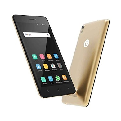 Gionee P5W Gold, 16 GB images, Buy Gionee P5W Gold, 16 GB online at price Rs. 4,948