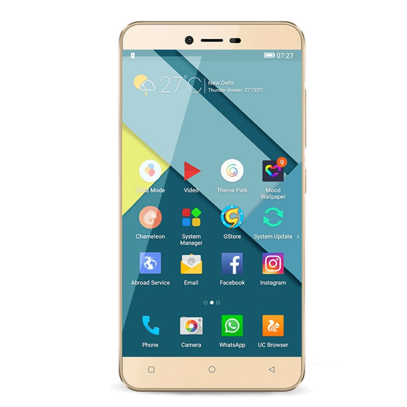 Gionee P7 Gold, 16 GB images, Buy Gionee P7 Gold, 16 GB online at price Rs. 9,299