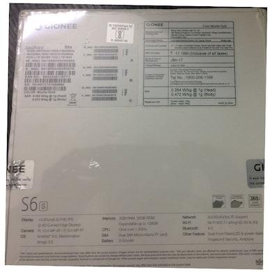 Gionee S6s (Latte Gold, 3GB RAM, 32GB) Price in India