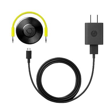 Google Chromecast Audio Streaming Device Black Price in India