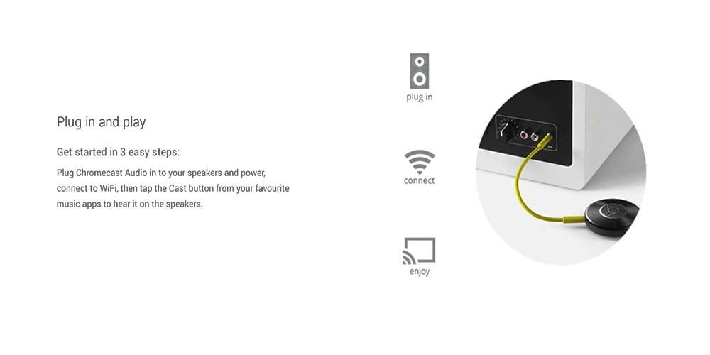 Google Chromecast Audio Streaming Device Photo 12