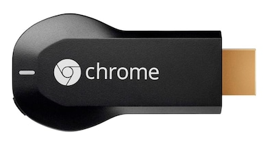 Google Chromecast HDMI Streaming Media Player Black Price in India