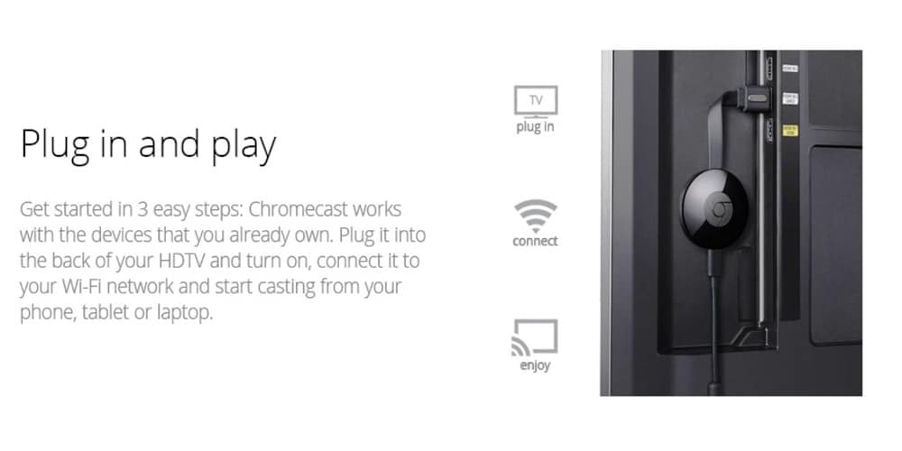 Google Chromecast Media Streaming Device Photo 10