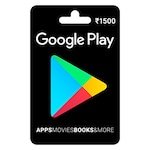 Buy Google Play Gift Card Rs 1500 Online