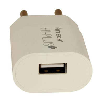 Hitech HI-PLUS H25 Wall Charger White Price in India