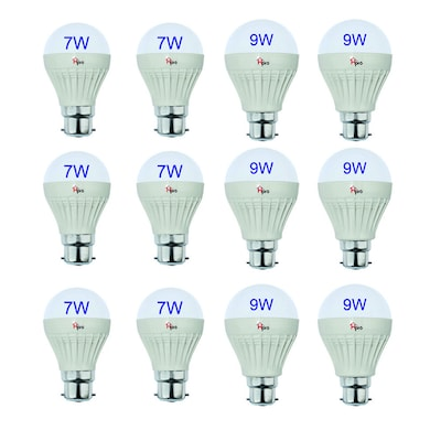 4d4af91b8 HomePro 7W and 9W LED Bulbs Pack of 12 White Price in India – Buy ...