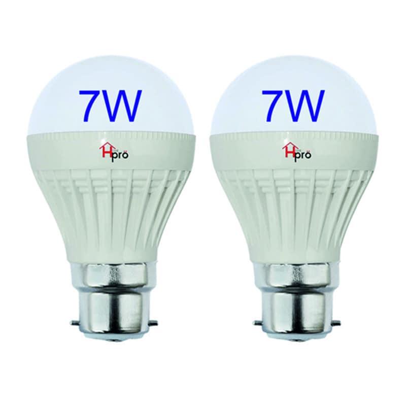 HomePro 7W LED Bulbs Pack Of 2 White Price In India U2013 Buy ...