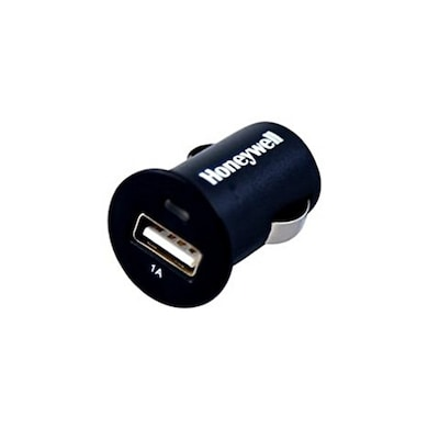 Honeywell Micro CLA Car Charger without Cable (1 Amp 1 x USB) Black Price in India