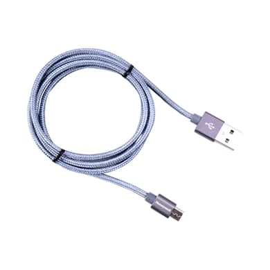 Honeywell USB to Micro USB Cable (Braided)- 1 Meter Grey Price in India