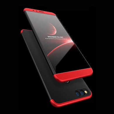 quality design 32415 a5544 Honor 7X 3 in 1 Luxury Matte Finish 360 Protection Hybrid Back Case Cover