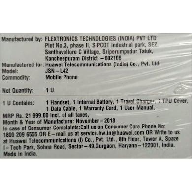 Honor 8X (Midnight Black, 6GB RAM, 128GB) Price in India