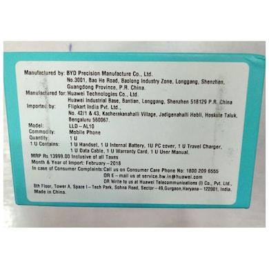 Honor 9 Lite (Midnight Black, 3GB RAM, 32GB) Price in India