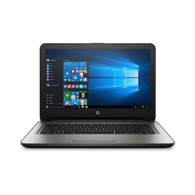 HP 14-AM091TU 14 Inch Laptop (Core i3 6th Gen/4GB/1TB/Win 10) Grey Price in India