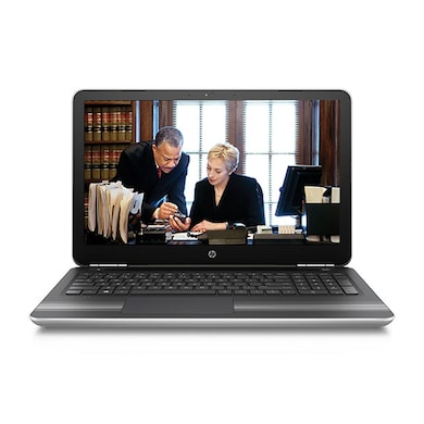 HP 15-AU003TX 15.6 Inch Laptop (Core i5 6th Gen/8GB/1TB/Win 10/2GB Graphics) Silver Price in India
