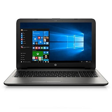 HP 15-AY053TX 15.6 Inch Laptop (Core i5 6th Gen/4GB/1TB/Win 10/2GB Graphics) Turbo Silver Price in India