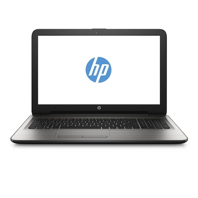 HP 15-BA025AU 15.6 Inch Laptop (APU Quad Core/4GB/500GB/DOS) Silver Price in India