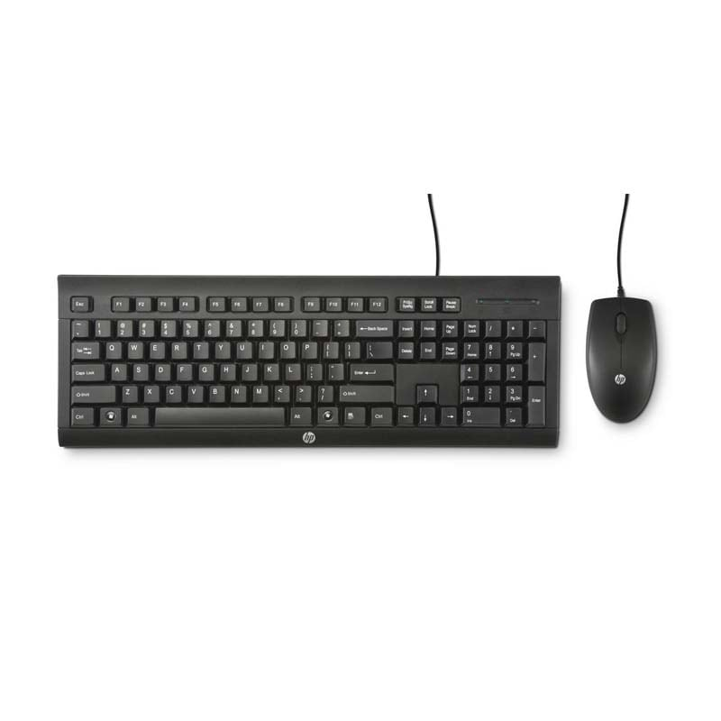 hp c2500 wired keyboard mouse combo black price in india buy hp c2500 wired keyboard mouse. Black Bedroom Furniture Sets. Home Design Ideas