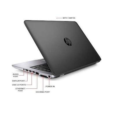 Refurbished HP EliteBook 840 G1 14 Inch Laptop (Intel Core i5 4th Gen/4GB/320GB) Assorted Color Price in India