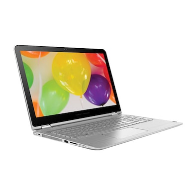 HP Envy 15-w102TX x360 T5Q56PA 15.6 Inch Laptop (Core i5 6th Gen/8GB/1TB/Win 10/2GB Graphics/Touch) Natural Silver Price in India