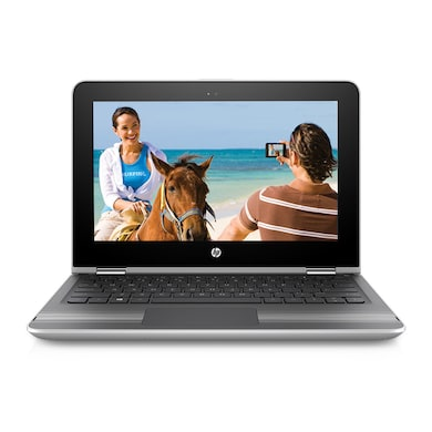HP Pavilion 11-U005TU 11.6 Inch Laptop (Core i3 7th Gen/4GB/TB/Win 10/Touch) Silver Price in India