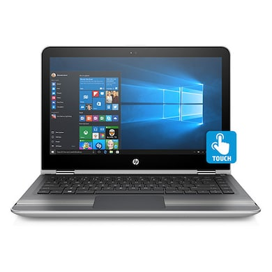 HP Pavilion 13-U005TU x360 W0J51PA 13.3 Inch 2in1 Laptop (Core i5 6th Gen/4GB/1TB/Win 10/Touch) Silver Price in India