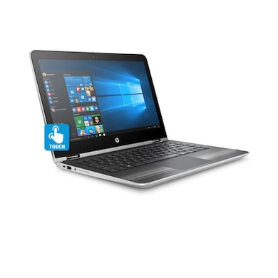 HP Pavilion 13-U105TU X360 Y4F72PA 13.3 Inch 2 In 1 Laptop (Core i5 7th Gen/4GB/1TB/Win 10/Touch) SIlver Price in India