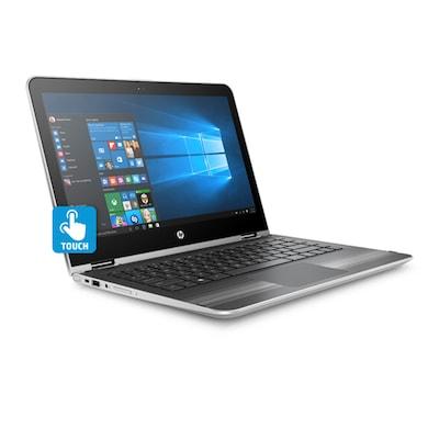 HP Pavilion 13-U131TU X360 Z4Q49PA 13.3 Inch 2iN1 Laptop (Core i3 7th Gen/4GB/1TB/Win 10/Touch) Silver Price in India